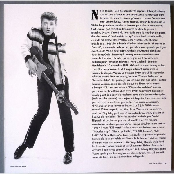 Johnny Hallyday: Souvenir Souvenir