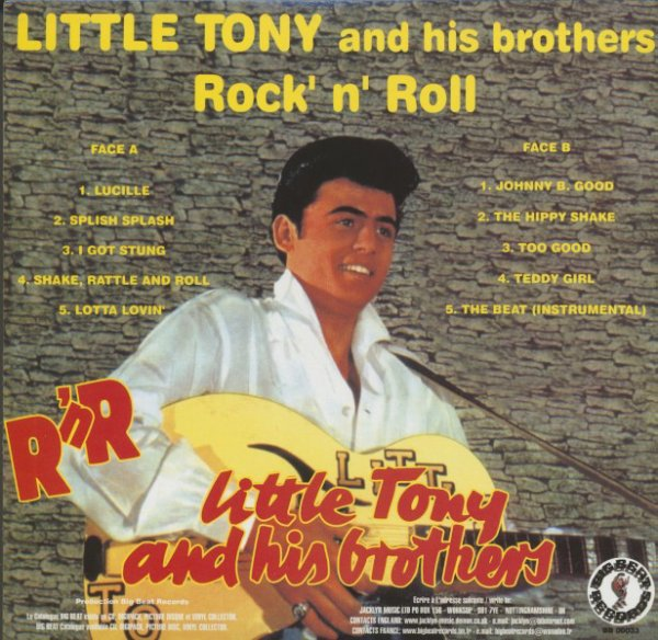 Little Tony And His Brothers - Believe What You Say (1958)