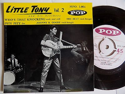 WHO'S THAT KNOCKING - LITTLE TONY and his Brothers - TOP RARE VINYL RECORDS