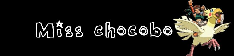 Chocobo woman prologue