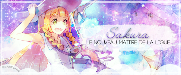 Three-shot ❀ Sakura, le nouveau Maitre de la Ligue - partie 1