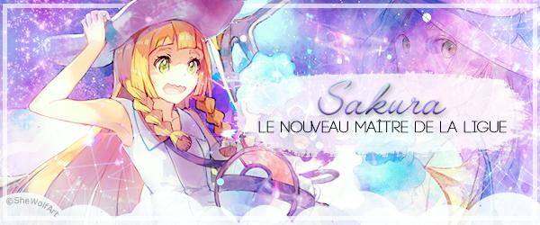 Sakura, le nouveau Maitre de la Ligue - personnages (partie 1)