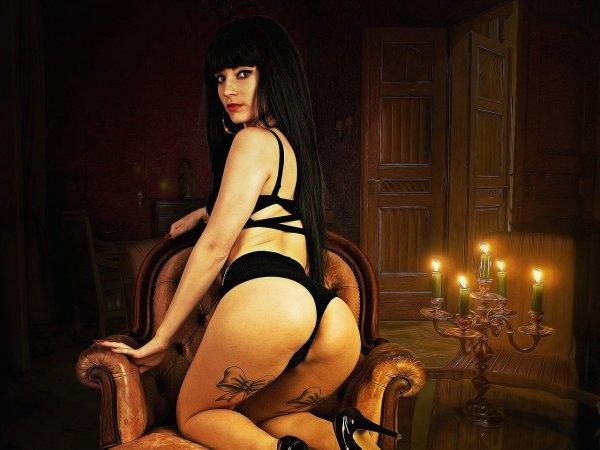 L'histoire commence dans la chambre de la reine :