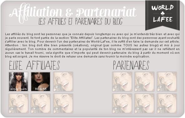 _Art. 004 :_ « Les Affiliés & Partenaires du blog. »_____________________________NEWSLETTER - KWEST