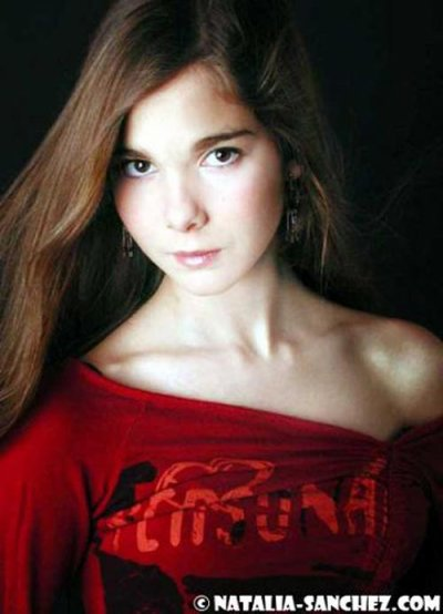Nathalia Sanchez alias teresa dans la série