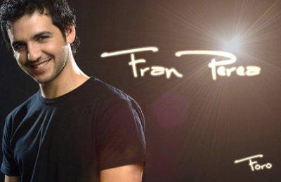 Francisco Manuel Perea Bilbao est né à Malaga le 20 novenbre 1978 .Plus connu sous le nom de Fran Perea est un acteur et chanteur espagnol.