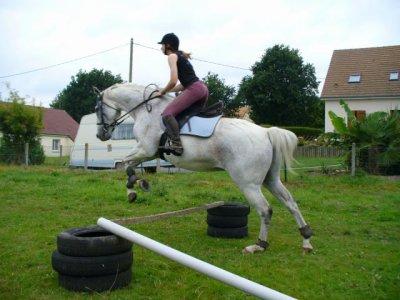 Séance de saut avec Alois