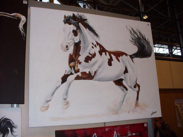 Salon du cheval à Paris en 2012