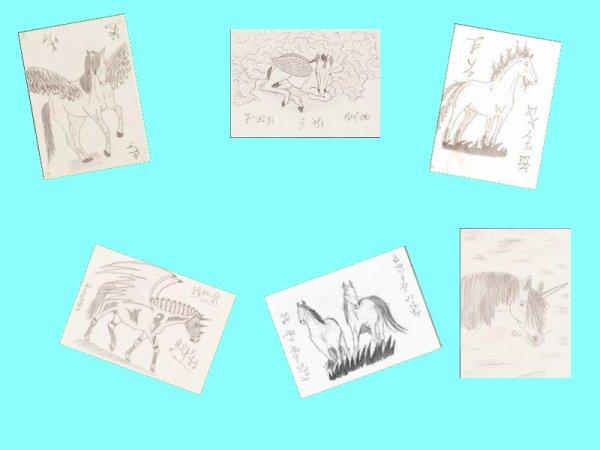 Petite série de très vieux dessins