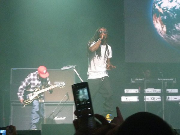 "WEEZY F BABY DON'T FORGET THE ""F"" AROUND HiM  YEAH"