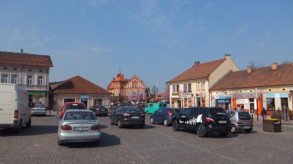 Place d'un village prés de Cracovie .