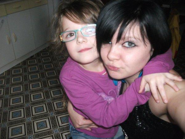 Ma filleule Clara et mOi hihi y t'aimeuh (l)