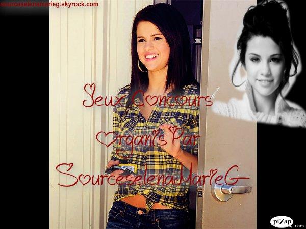 Concours Sur Selena Gomez