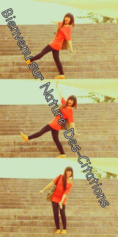 Bienvenu :)  ♥