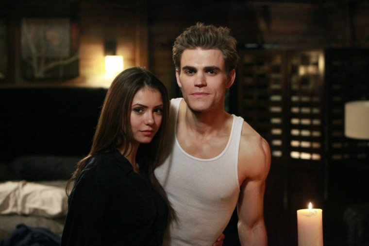 Le bo couple Stefan et Elena