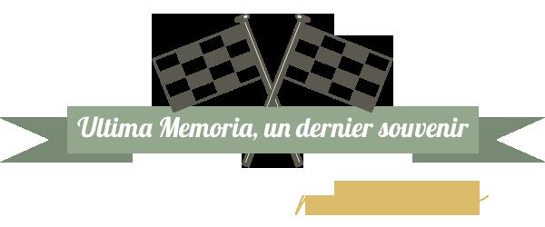 Ultima Memoria, un dernier souvenir