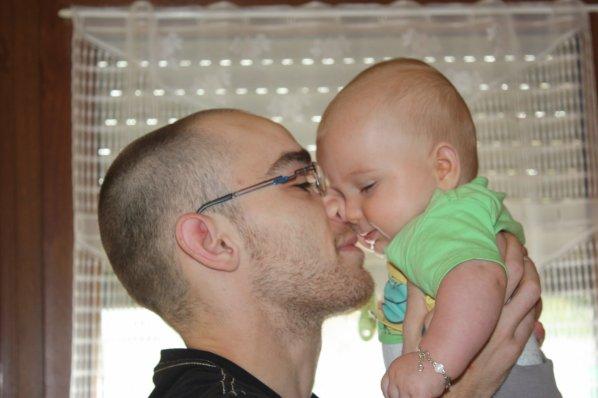 Ayrthon et son papa