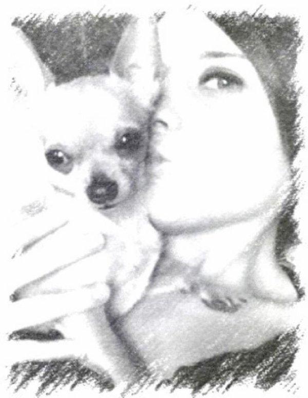 moi et chien gigi