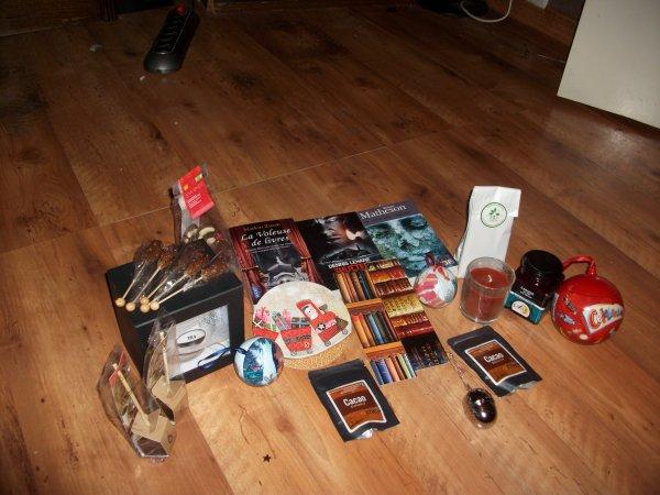 Swap Lecture, thé et chocolat, drogues du LAien? 2