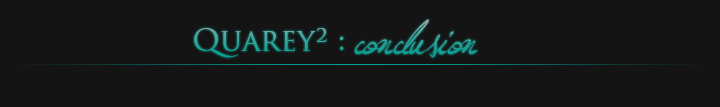 QUAREY² : Conclusion