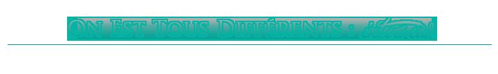 On Est Tous Différents : Interview