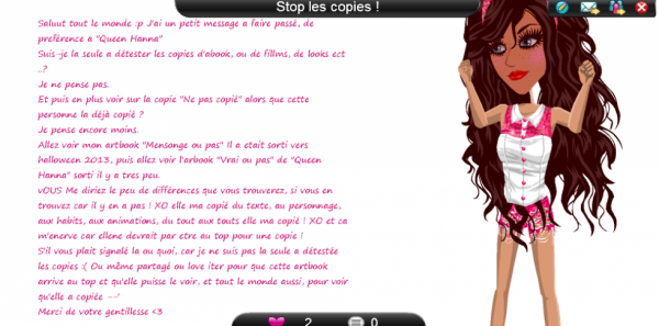 Stop les copies
