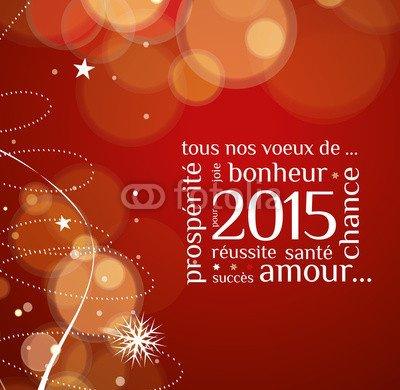 Je vous souhaite pour l'Année 2015 tous mes v½ux de bonheurs