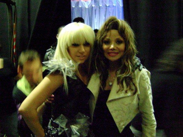 Découvrez une nouvelle photo de Lady Gaga et Latoya Jackson !