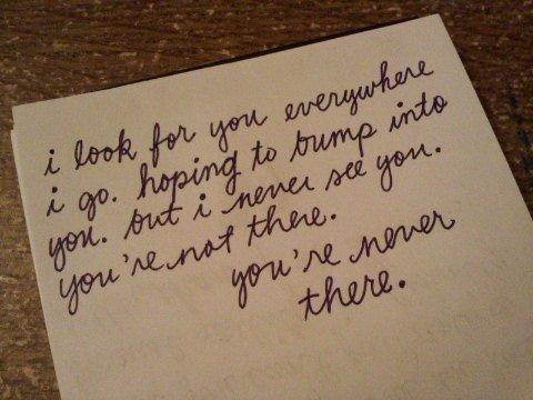 « Je m'en veux de m'être laissée sécher tout d'abord par votre souvenir puis par simple tristesse. » Pascal Quignard