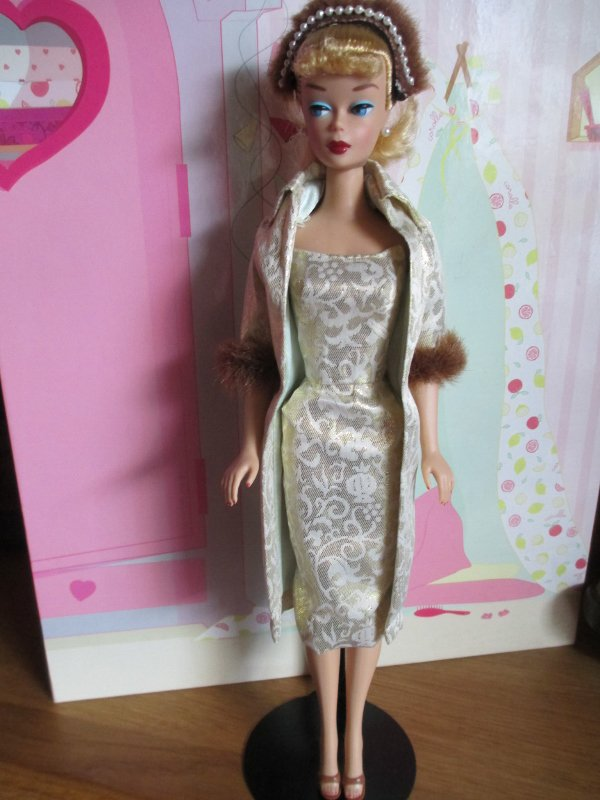 mes Barbie repro ou pas :)