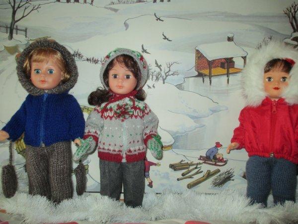 c'est l'hiver chez les Modes et Travaux