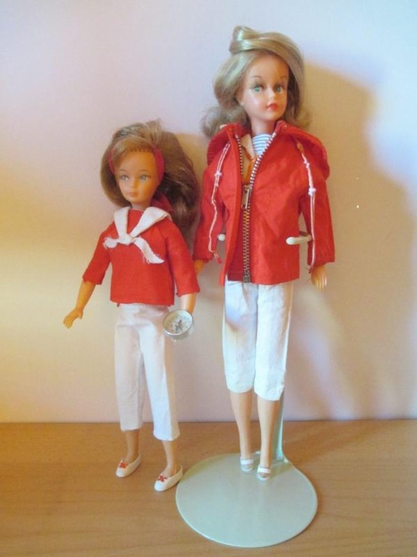 """Tressy et Snouky """"en croisière"""" 1966-1968"""