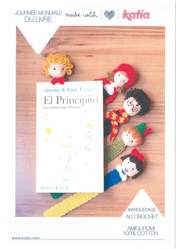 tuto au crochet : marque-pages personnages de contes