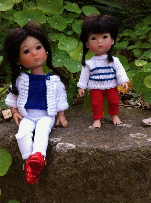Ten Ping et Yu Ping - tenues de bord de mer