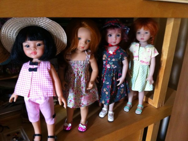 la bande des 4 filles