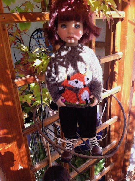 couleurs d'automne sur le balcon ! :)