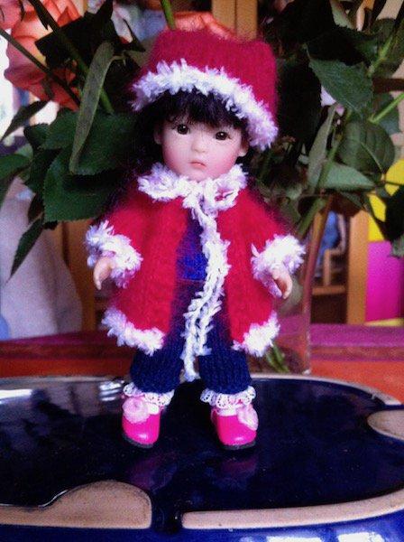 une petite tenue d'hiver pour Yu Ping