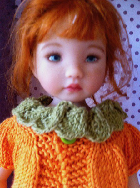 """une tenue que j'ai bien aimé faire (modèle """"Capucine"""" de Soudane pour les Little Darling"""