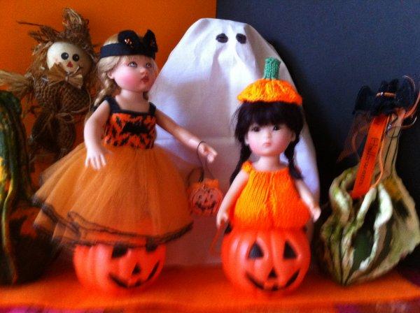 Halloween chez les petites !