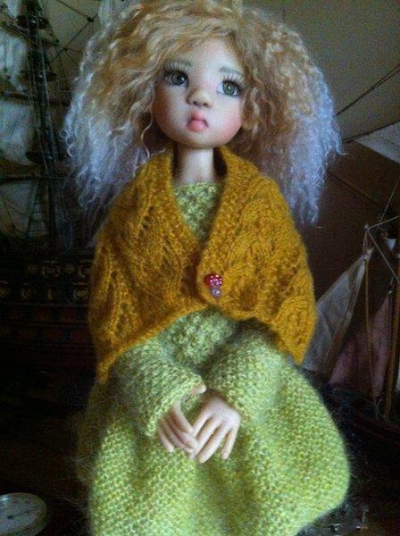 encore une petit laine pour Miki ! + lien du tuto