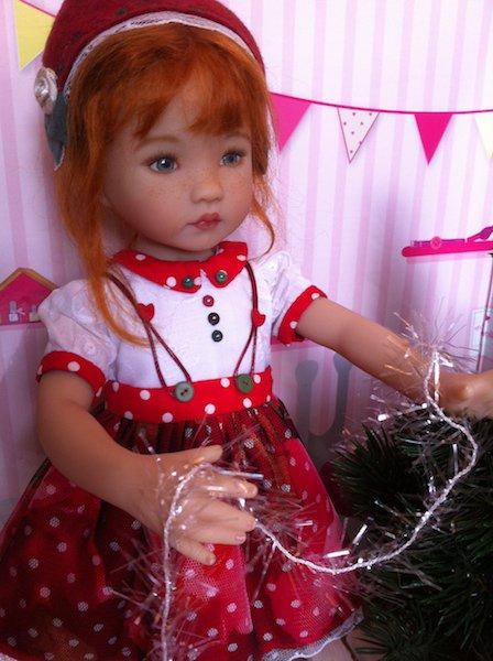 Rosalie prépare Noël