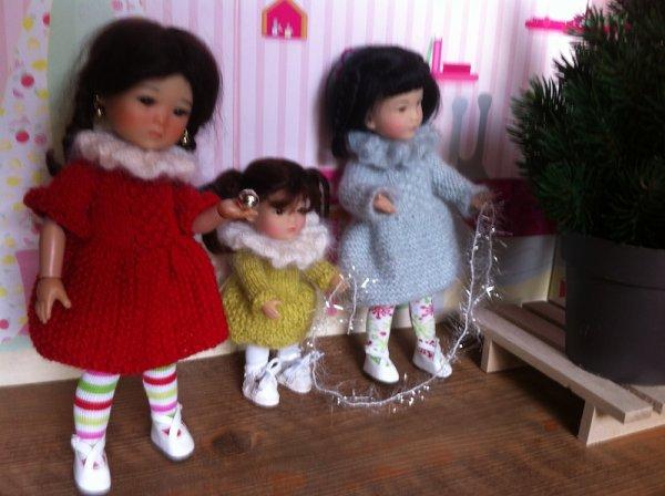 la famille Ten Ping prépare Noël + essayage des tenues