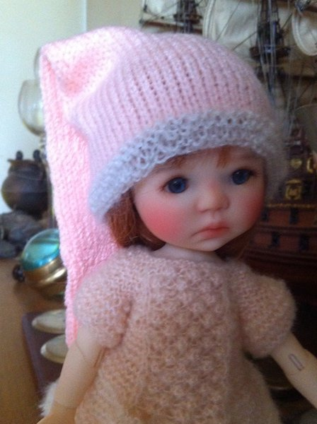 Lily, mon adorable mini Saffi (de Meadowdolls)