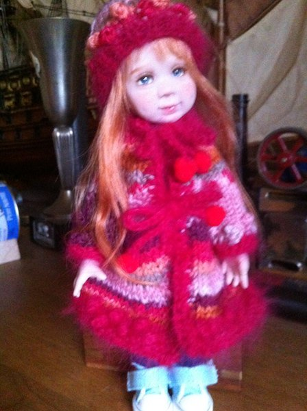 Sunny a un nouveau manteau !