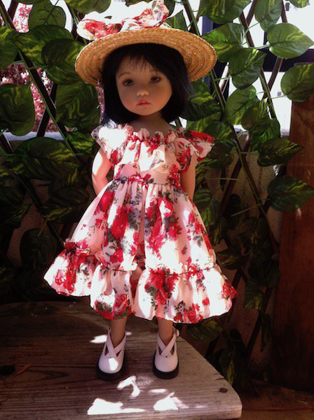 Rosalie aussi a une jolie robe
