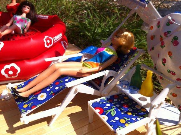Tressy, Snouky, Mily, Francie en vacances !
