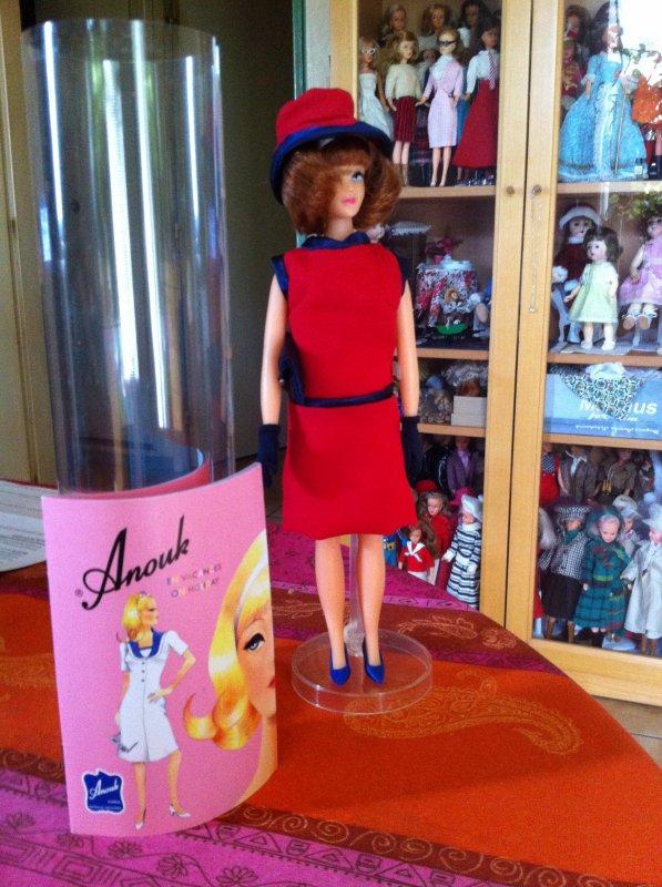 Anouk, la réédition anglaise de la poupée Caprice
