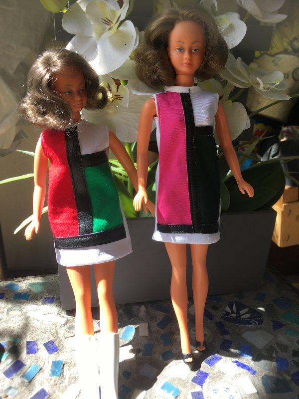mes Mily en Mondrian, tenue A la page, 1966