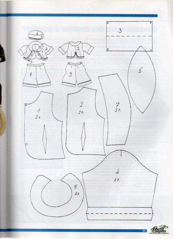 un costume pour Bleuette