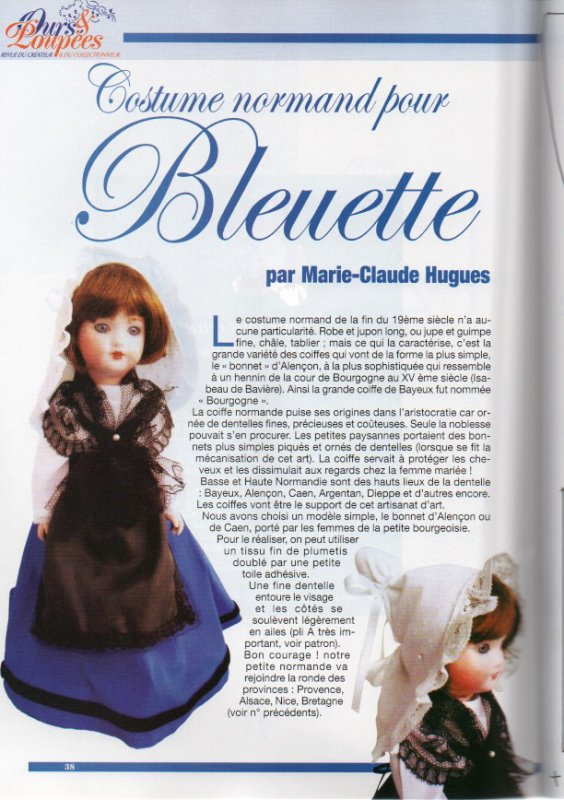 Bleuette en Normande
